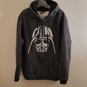Star Wars Darth VaderMens Hoodie Dark Grey